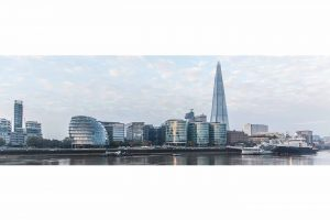 "Kunst Panorama London "" The Shard"" 