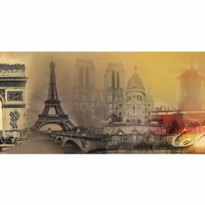 Kunst Collage Paris | Moderne Fotokunst aus der Metropole Paris