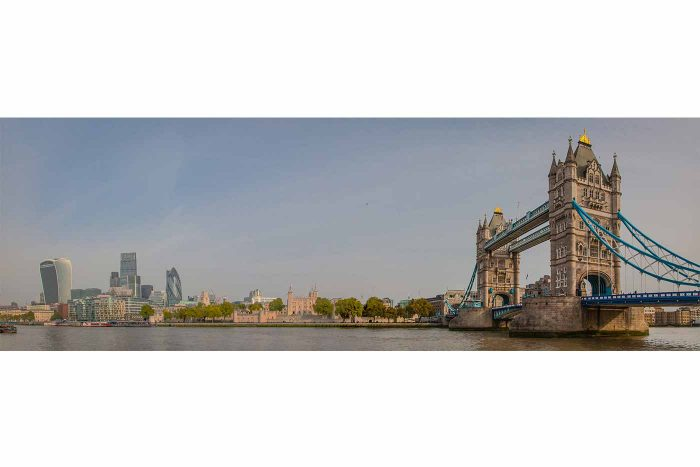 Tower Bridge Skyline View | Best of London, Panorama Bilder aus London