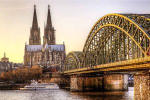 Bilder Köln Panorma Motiv vom DOM | Hochwertige Skyline Köln Foto Kunst