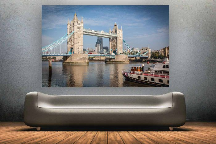 Best Panorama View on London Tower Bridge | Enjoy this Skyline